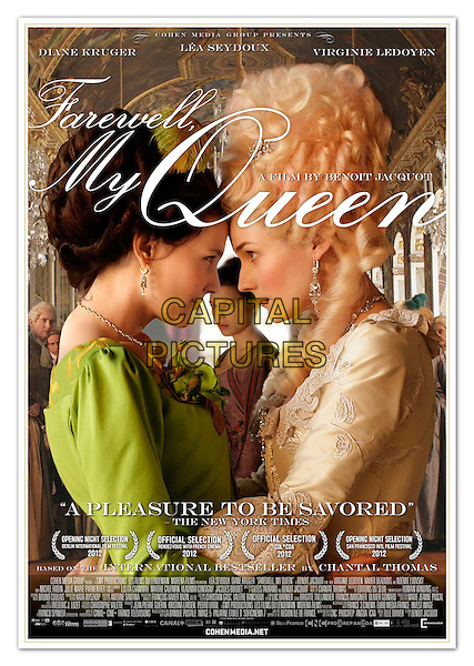 AMERICAN POSTER ART.in Farewell, My Queen (2012).(Les adieux a la reine).*Filmstill - Editorial Use Only*.CAP/FB.Supplied by Capital Pictures.