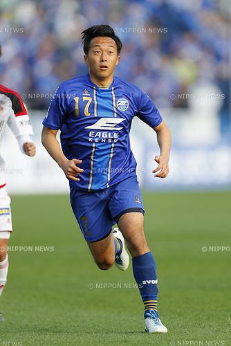 Takafumi Suzuki (Zelvia), MARCH 20, 2016 - Football /Soccer : 2016 J2 League match between FC Machida Zelvia 2-1 Zweigen Kanazawa at Machida Stadium in Tokyo, Japan. (Photo by Yusuke Nakanishi/AFLO SPORT)