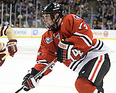 Vinny Saponari (Northeastern - 74) - The Boston College Eagles defeated the Northeastern University Huskies 7-1 in the opening round of the 2012 Beanpot on Monday, February 6, 2012, at TD Garden in Boston, Massachusetts.