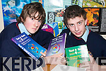 SUMMING IT UP: Causeway Comprehensive School pupils Sean Griffin and Sean Dwyer who have been selected on a panel from which the Irish Mathematics Olympiad team will be selected.