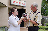 Mitsy, Rocky and Dr. Gerken