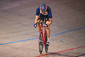 7th February 2019, Melbourne Arena, Melbourne, Australia; Six Day Melbourne Cycling; Daniel Holloway of the United States of America rides during the Madison Chase