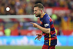FC Barcelona's Jordi Alba during Spanish Kings Cup Final match. May 22,2016. (ALTERPHOTOS/Rodrigo Jimenez)