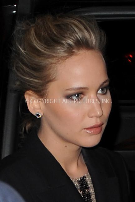 WWW.ACEPIXS.COM<br /> March 21, 2015 New York City<br /> <br /> Jennifer Lawrence attending a screening of 'Serena' at Landmark Sunshine Cinema on March 21, 2015 in New York City.<br /> <br /> Please byline: Kristin Callahan/AcePictures<br /> <br /> ACEPIXS.COM<br /> <br /> Tel: (646) 769 0430<br /> e-mail: info@acepixs.com<br /> web: http://www.acepixs.com