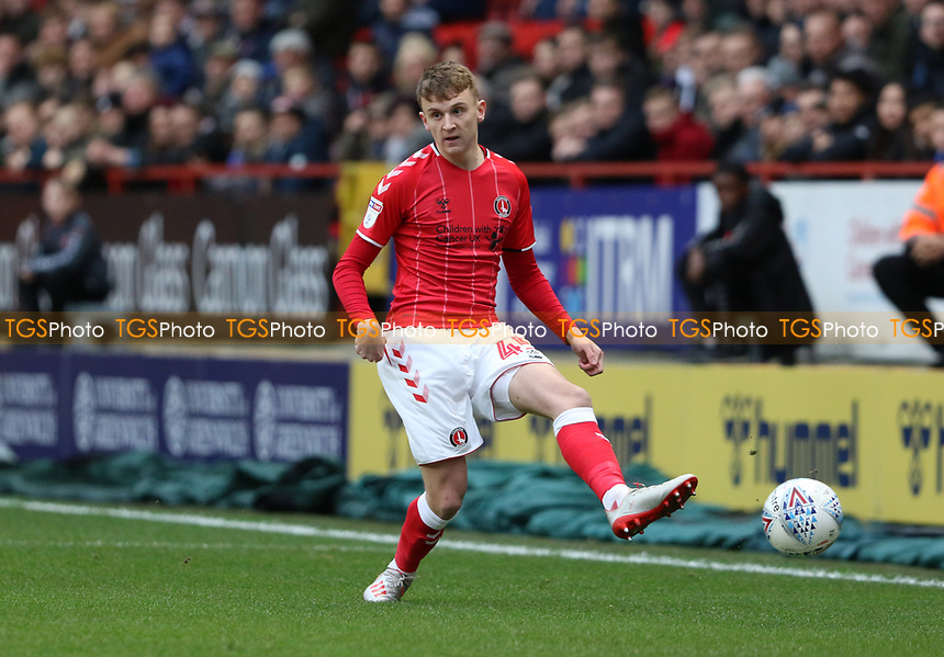 Alfie Doughty of Charlton Athletic during Charlton Athletic vs West Bromwich Albion, Sky Bet EFL Championship Football at The Valley on 11th January 2020