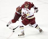 Michael Marcou (UMass - 22), Brian Gibbons (BC - 17) - The Boston College Eagles defeated the University of Massachusetts-Amherst Minutemen 5-2 on Saturday, March 13, 2010, at Conte Forum in Chestnut Hill, Massachusetts, to sweep their Hockey East Quarterfinals matchup.