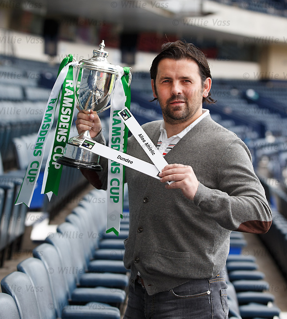 Paul Hartley at the Ramsdens Cup draw