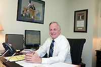 10/8/12 10:07:13 AM - Doylestown, PA.. -- Sam Totaro is photographed in his Doylestown, Pennsylvania law office October 8, 2012 in Doylestown, Pennsylvania. -- (Photo by William Thomas Cain/Cain Images)