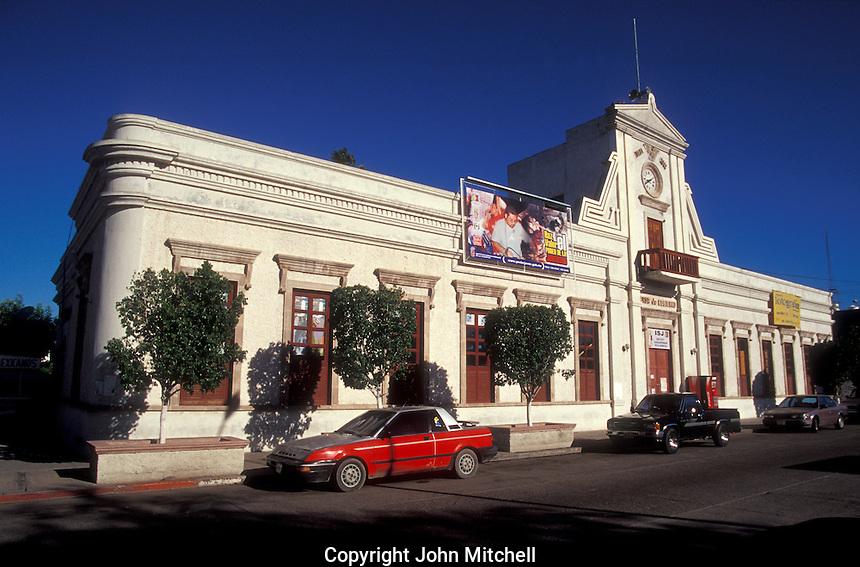 The Government Pallace or Palacio de Gobierno in the city of La Paz, Baja California Sur, Mexico
