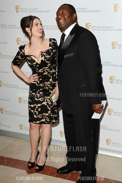 Actors, Hayley Atwell and Lenny Henry arrives for the BAFTA Craft Awards 2010 at the London Hilton, Park Lane, London. 23/05/2010  Picture by Steve Vas/Featureflash