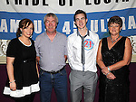 Kenny Breen from Hillview celebrating his 21st birthday in the Star and Crescent with parents Bernard and Eileen and sister Emma. Photo: Colin Bell/pressphotos.ie