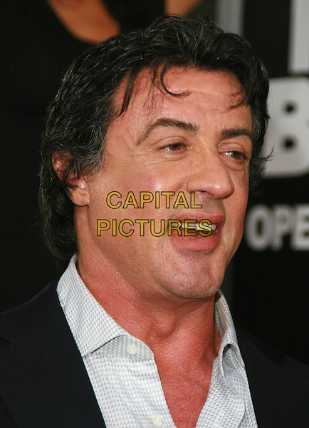 """SYLVESTER STALLONE .""""Rocky Balboa"""" Premiere held at Mann's Chinese Theater, Hollywood, California, USA..December 13th, 2006.headshot portrait.CAP/ADM/CH.©Charles Harris/AdMedia/Capital Pictures"""