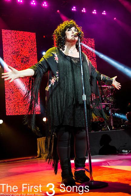 Ann Wilson of Heart performs at Riverbend Music Center in Cincinnati, Ohio.