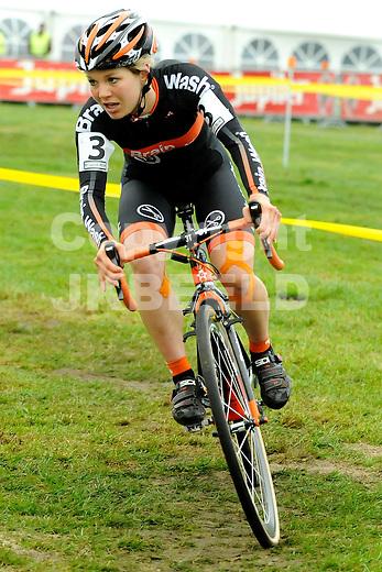 GIETEN - Wielrennen Cyclocross, Superprestige dames, 2011-2012, 27-11-2011,  Sanne van Paassen.