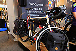 Woodrup Cycles stand at Bespoked 2018 UK handmade bicycle show held at Brunel's Old Station & Engine Shed, Bristol, England. 21st April 2018.<br /> Picture: Eoin Clarke | Cyclefile<br /> <br /> <br /> All photos usage must carry mandatory copyright credit (© Cyclefile | Eoin Clarke)