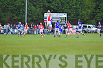 Laune Rangers v East Kerry in the first round of the Garveys Supervalu Kerry county football championship at Beaufort on Saturday evening.