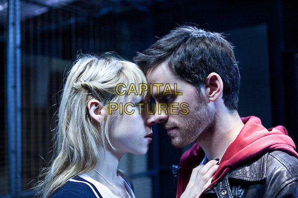 Antonia Campbell Hughes & Colin O'Donoghue.in Storage 24 (2012) .*Filmstill - Editorial Use Only*.CAP/FB.Supplied by Capital Pictures.