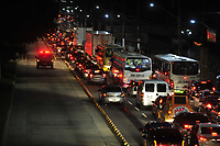 Congestionamento na Av Almirante Barroso