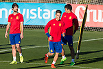 Denis Suarez during the training of Spanish national team under 21 at Ciudad del El futbol  in Madrid, Spain. March 21, 2017. (ALTERPHOTOS / Rodrigo Jimenez)
