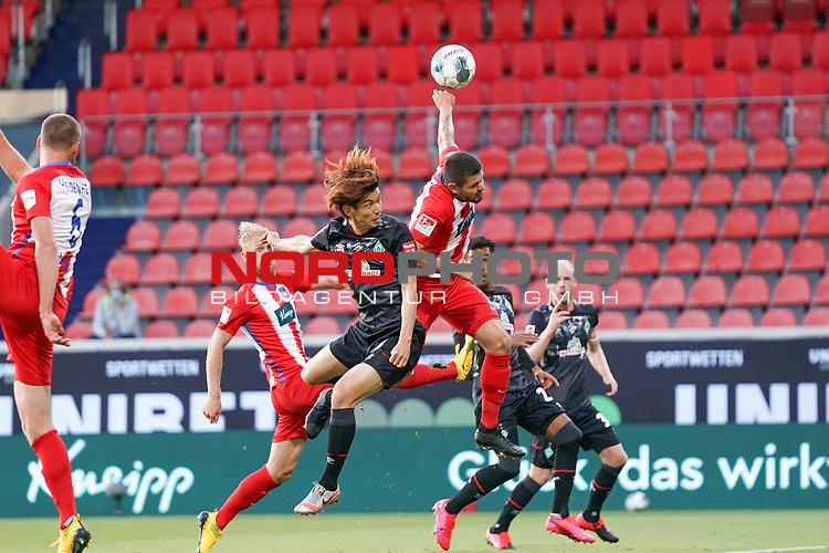 Joshua Sargent (Werder Bremen #19)<br /><br />Sport: nphgm001: Fussball: 1. Bundesliga: Saison 19/20: Relegation 02; 1.FC Heidenheim vs SV Werder Bremen - 06.07.2020<br /><br />Foto: gumzmedia/nordphoto/POOL <br /><br />DFL regulations prohibit any use of photographs as image sequences and/or quasi-video.<br />EDITORIAL USE ONLY<br /><br />National and international News-Agencies OUT.