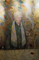 Europe/Autriche/Niederösterreich/Vienne: Portrait de Madame Anna Sacher à l'Hôtel Sacher