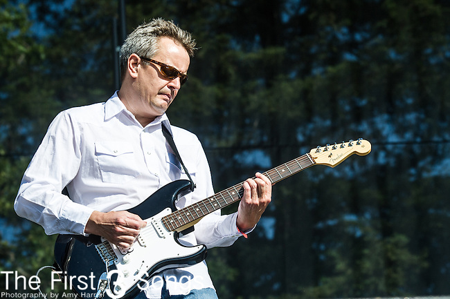 Greg Lisher of Camper Van Beethoven performs at the 2nd Annual BottleRock Napa Festival at Napa Valley Expo in Napa, California.
