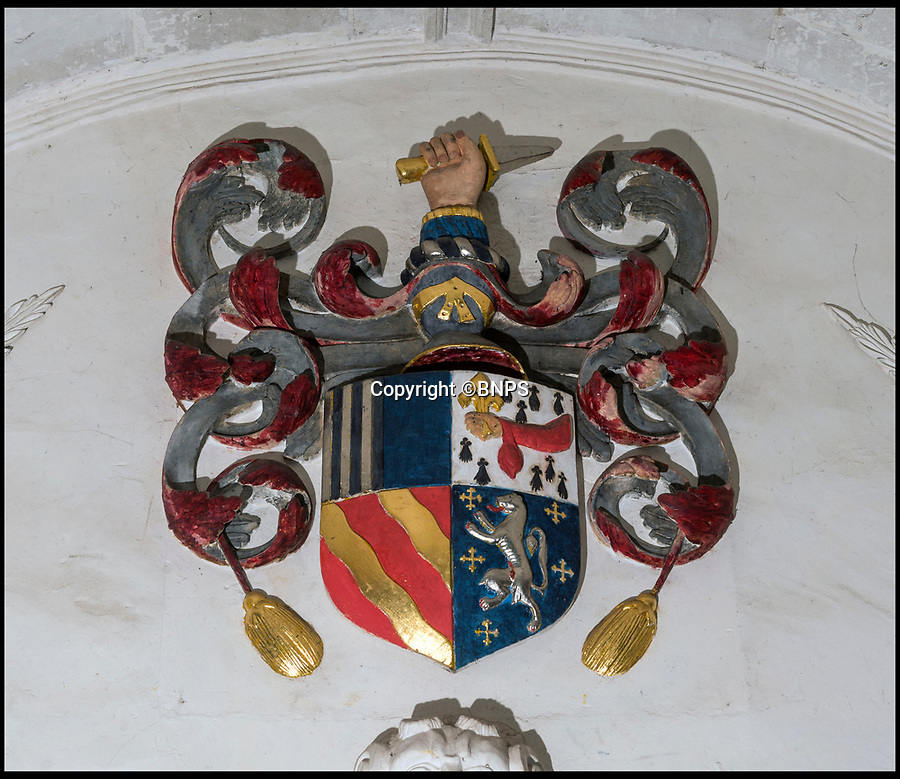 BNPS.co.uk (01202 558833)<br /> Pic: PhilYeomans/BNPS<br /> <br /> Family crest over the main entrance.<br /> <br /> Downton Abbey writer Lord Julian Fellowes has joined the madding crowd and spoken out against plans to build a housing estate next to a country manor that inspired author Thomas Hardy.<br /> <br /> Lord Fellowes, who is president of the Hardy Society, has written to planners to object to the proposed 120 home development that will be just 200 yards from Wolfeton House near Dorchester, Dorset.<br /> <br /> The historic house once belonged to the Trenchard family whose name provided inspiration for the flawed character Michael Henchard in Hardy's Mayor of Casterbridge novel.<br /> <br /> Lord Fellowes said he could not 'stay silent' any longer when Hardy's heritage 'is under threat'. He added the development would 'destroy a major element in Hardy's story'.