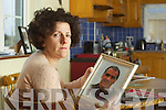 Margaret O'Leary the widow of Paud O'Leary pictured at her home on Wednesday.