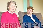RELAXING: Sr. Grace Foley and Sr. Bridie O'Sullivan relaxing in the Presentation Convent, Castle St. Tralee.