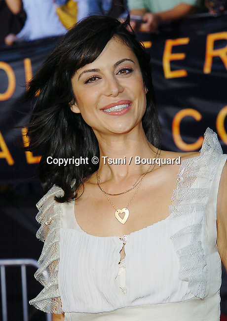 Catherine Bell  arriving at the Collateral Premiere at the Orpheum Theatre in Los Angeles. August 2, 2004