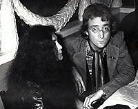 New York City<br /> 1980 <br /> John Lennon Yoko Ono<br /> Photo By John Barrett-PHOTOlink.net/MediaPunch