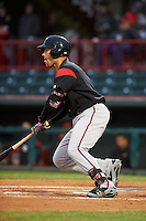 Richmond Flying Squirrels designated hitter Mac Williamson (7) at bat during a game against the Erie Seawolves on May 19, 2015 at Jerry Uht Park in Erie, Pennsylvania.  Richmond defeated Erie 8-5.  (Mike Janes/Four Seam Images)