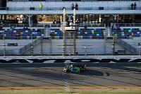 #39 Carbahn Motorsports Audi R8, GS: Tyler McQuarrie, Jeff Westphal, Checker Flag