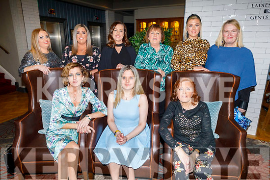 Anna Buckley from Tralee celebrating her birthday in the Ashe Hotel on Saturday<br /> Seated l to r: Bridget O'Riley, Anna and Katie Buckley.<br /> Back l to r: Samantha and Mary Buckley,  Philomena Dunworth, Sheila Hughes, Nicola McIntyre and Carol Carey.