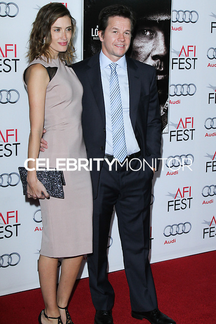 "HOLLYWOOD, CA - NOVEMBER 12: Rhea Durham, Mark Wahlberg at the AFI FEST 2013 - ""Lone Survivor"" Premiere held at TCL Chinese Theatre on November 12, 2013 in Hollywood, California. (Photo by David Acosta/Celebrity Monitor)"