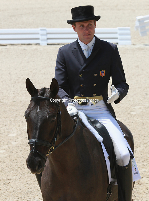 28 April 2011. Remington and Boyd Martin from the United States.