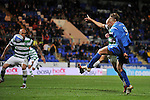 St Johnstone v Celtic..27.10.10  .Sam Parkin scores for saints.Picture by Graeme Hart..Copyright Perthshire Picture Agency.Tel: 01738 623350  Mobile: 07990 594431