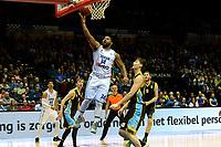 GRONINGEN - Basketbal, Donar - Den Helder Suns, Martiiniplaza,  kwartfinale playoff, seizoen 2018-2019,  30-04-2019,  score Donar speler Lance Jeter