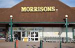 Morrisons supermarket superstore, Felixstowe, Suffolk, England