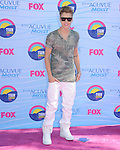 Justin Bieber at FOX's 2012 Teen Choice Awards held at The Gibson Ampitheatre in Universal City, California on July 22,2012                                                                               © 2012 Hollywood Press Agency