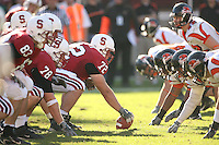 18 November 2006: Mikal Brewer during Stanford's 30-7 loss to Oregon State at Stanford Stadium in Stanford, CA.
