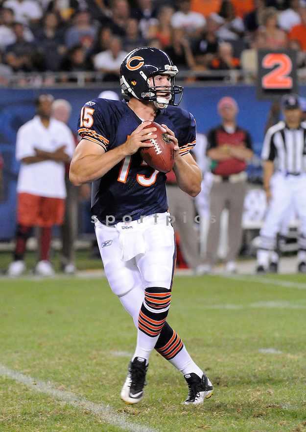 DAN LEVOUR, of the Chicago Bears, in action during the Bears game against the Arizona Cardinals at Soldier Field in Chicago, IL.  on August 28, 2010.  The Cardinals beat the Bears 14-9 in the third week of preseason games...