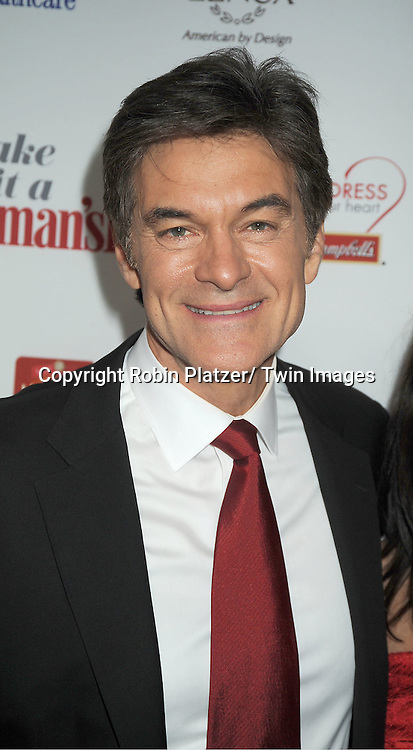 Dr Oz attends Woman's Day Red Dress Awards on February 15, 2012 at Jazz at Lincoln Center in New York City. Dr Oz, Star Jones and US Surgeon General Dr Regina Benjamin were honored.