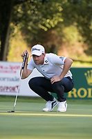Bernd Wiesberger (AUT) in action on the 15th hole during the first round of the 76 Open D'Italia, Olgiata Golf Club, Rome, Rome, Italy. 10/10/19.<br /> Picture Stefano Di Maria / Golffile.ie<br /> <br /> All photo usage must carry mandatory copyright credit (© Golffile | Stefano Di Maria)