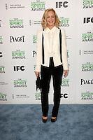 Maria Bello<br /> at the 2014 Film Independent Spirit Awards Arrivals, Santa Monica Beach, Santa Monica, CA 03-01-14<br /> David Edwards/Dailyceleb.com 818-249-4998