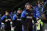 Jack Wilson and the rest of the Bath Rugby team arrive. Pre-season friendly match, between Edinburgh Rugby and Bath Rugby on August 17, 2018 at Meggetland Sports Complex in Edinburgh, Scotland. Photo by: Patrick Khachfe / Onside Images