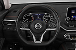 Car pictures of steering wheel view of a 2019 Nissan Altima SR-FWD 4 Door Sedan Steering Wheel