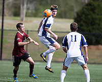 The Winthrop University Eagles played the UNC Wilmington Seahawks in The Manchester Cup on April 5, 2014.  The Seahawks won 1-0.  Kellen Foster (12)