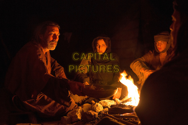 Last Days in the Desert (2015)<br /> Ciaran Hinds stars as 'Father', Ayelet Zurer as 'Mother', Tye Sheridan as 'Son' and Ewan McGregor as 'Jesus',<br /> *Filmstill - Editorial Use Only*<br /> CAP/KFS<br /> Image supplied by Capital Pictures