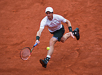 Paris, France, 23 june, 2016, Tennis, Roland Garros, Andy Murray (GBR) <br /> Photo: Henk Koster/tennisimages.com